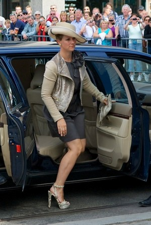 Princess Martha Louise, shown here arriving at last weekend's memorial services for terror victims, plans to move to London soon. PHOTO: Views and News