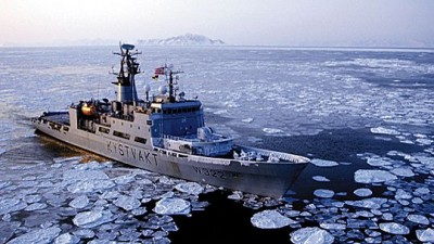 Norway's military has frigates and coast guard vessels on patrol in the Arctic. PHOTO: Forsvaret