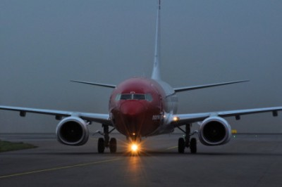 Norway's low-fare carrier Norwegian has been experienced much darker days this year, and now faces a pilots' strike on Monday. PHOTO: Norwegian