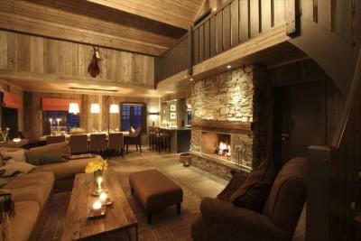 Vakre hytter interiør