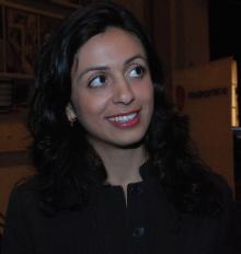 Hadia Tajik, a real minority in the new Norwegian Parliament. PHOTO: Ap