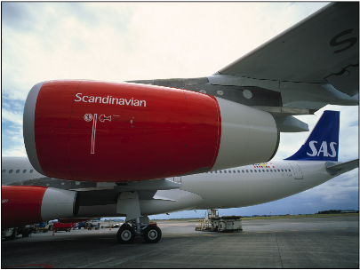 Scandinavian Airlines (SAS) hopes to avoid permanent grounding after this weekend. PHOTO: SAS