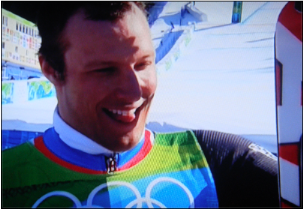 Norway's Aksel Lund Svindal did a lot better in the Winter Olympics in Vancouver than he's been doing in Sochi.  On Monday he decided to travel home. PHOTO: NRK screen grab
