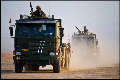 Soldiers serving in Afghanistan are making new salary demands. PHOTO: Forsvaret