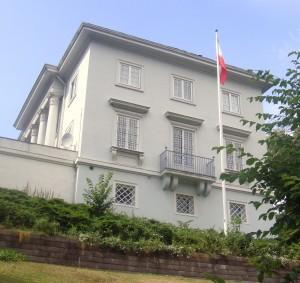 Diplomatic drama at the Iranian Embassy in Oslo. PHOTO: Views and News