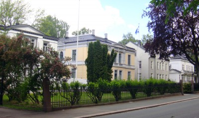 The Israeli embassy, pictured above, has criticized NRK's coverage over a number of decades. PHOTO: Views and News