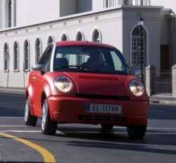 The little Think car has been in the hands of numerous owners and subject to redesign, but now investors finally think they're on track. PHOTO: Think Nordic