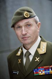 The military boss of Norway's foreign intelligence gathering efforts, Kjell Grandhagen, confirms the heightened activity. PHOTO: Forsvaret