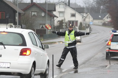 Police regularly set up controls to check for drunk driving, but cases of driving under the influence are nonetheless on the rise. PHOTO: Politi