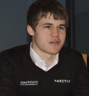 Magnus Carlsen had more reason to smile after winning another tournament, this time in Kristiansund. PHOTO: Views and News