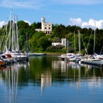 Waterfront walk to a royal retreat