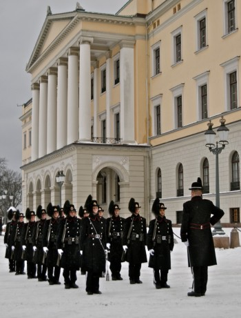 The King's Guards will continue to stand watch at the Royal Palace and other royal properties but otherwise be mostly a parade unit. PHOTO: Views and News