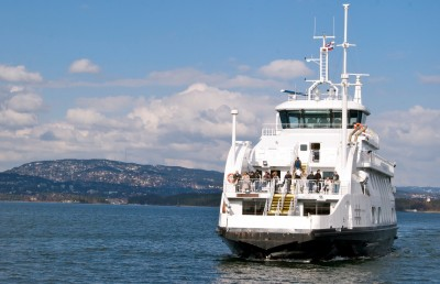 Ferries including those that run between Oslo and the Nesodden peninsula across the Oslo Fjord will likely stop running if labour mediation fails over the weekend. PHOTO: newsinenglish.no
