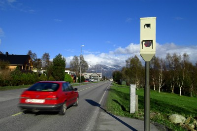 The future is unclear for traffic cameras like this one between Molde and Bud in western Norway. PHOTO: Knut Opeid/Statens Vegvesen