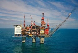 The Gullfaks C platform has caused problems for Statoil but now its field may yield new wealth. PHOTO: Statoil/Øyvind Hagen