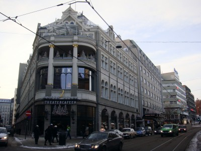 Oslo's Theatercaféen has been a busy place during this year's 'julebord' season. PHOTO: Views and News