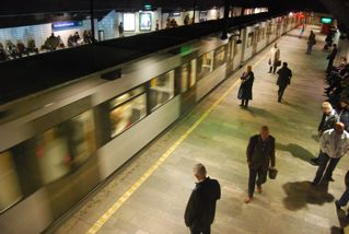Oslo's T-bane system has new carriages and is popular, when it runs on time. PHOTO: Views and News
