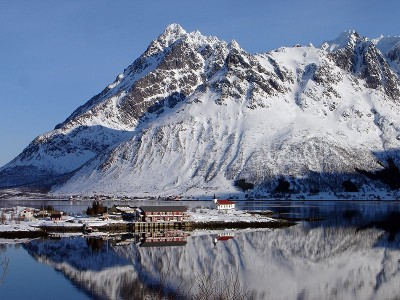 ... so now there's speculation that at least Lofoten might be spared the prospect of offshore oil and gas exploration. PHOTO: Wikipedia Commons/Øystein Bjørke