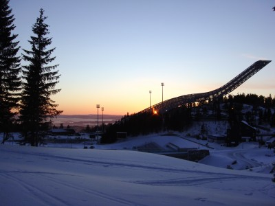 """Oslo's new Holmenkollen Ski Jump is at the center of the upcoming """"Ski-VM 2011,"""" as the Nordic World Ski Championships are called locally. """"VM"""" stands for """"verdens mesterskap,"""" which translates to """"world championships"""" in Norwegian. PHOTO: Views and News"""