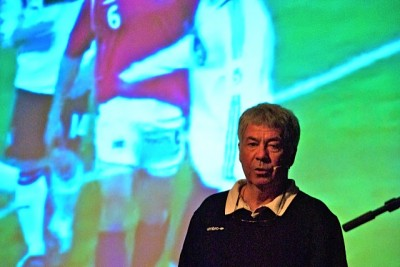 Egil 'Drillo' Olsen, pictured right, is a legend of Norwegian football - but even he must be feeling the pressure in advance of the era-defining 'Battle for the North'. PHOTO: Views and News/Morten Most