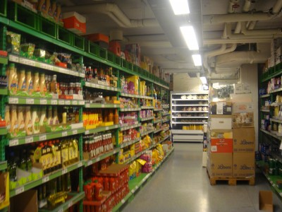 Store aisles may be filled with customers on Sunday, if the government gets its way. PHOTO: newsinenglish.no