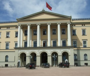 Guard duty at the Royal Palace in Oslo is supposed to be more than purely ceremonial. PHOTO: Views and News