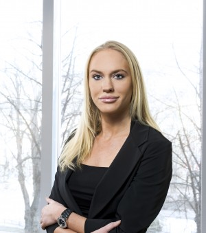 Cecilie Fredriksen, age 27, is working towards taking over the helm, especially at shipping companies within her father's vast business empire. PHOTO: Marine Harvest