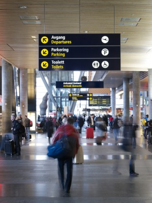 Norway's main airport, OSL at Gardermoen north of Oslo, will be greatly expanded over the next several years. PHOTO: Oslo Lufthavn Gardermoen