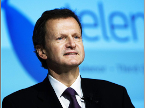 Telenor's chief executive, Jon Fredrik Baksaas, declined to comment directly on the corruption probe. Queries were referred to officials at VimpelCom. PHOTO: Telenor