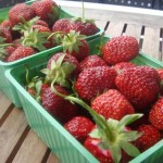 Locally grown strawberries are considered a delicacy in Norway, but some wonder whether they're overrated and as healthy as their image. PHOTO: Views and News