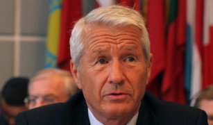 Thorbjørn Jagland, who now heads both the Council of Europe and the Norwegian Nobel Committee, denies trying to halt publication of a book that allegedly identified two Norwegian spies for the Soviet Union - both of whom were tied to Labour and the foreign ministry. PHOTO: Council of Europe