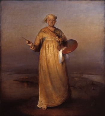 "Odd Nerdrum has long shunned the media but once offered this self-portrait on his website, called ""The saviour of the painting."""