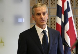 Foreign Minister Jonas Gahr Støre defended Norway's participation in the NATO bombing of Libya and now hoped the opposition's armed battle against the Gadhafi regime would end soon. PHOTO: Utenriksdepartementet/Ministry of Foreign Affairs
