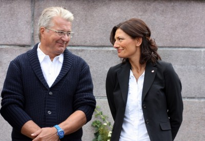 """The Conservatives' Fabian Stang (left) secured his seat at mayor of Oslo, but Labour's LIbe Rieber-Mohn seems to have lost her campaign for head of city government as """"byrådsleder."""" Negotiations to form a new city government in Oslo were expected to take some time. PHOTO: Arbeiderpartiet"""