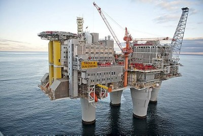 Norway's oil has made it a wealthy country with a huge trade and budget surplus, so now the EU may view it as a potential saviour. PHOTO: Øyvind Hagen / Statoil