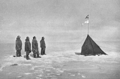 Many Norwegians are following in Roald Amundsen's footsteps and heading for the South Pole. PHOTO: Wikipedia Commons