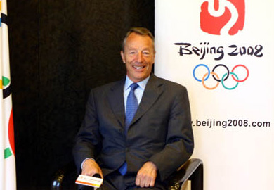 Gerhard Heiberg, longtime member of the International Olympic Committee (IOC), told DN that he thinks the Chinese view him as a friend of China, not as a Norwegian. PHOTO: Beijing2008
