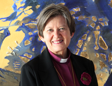 Helga Haugland Byfuglien is now the equivalent of archbishop and leader of the Church of Norway. PHOTO: Den Norske Kirken