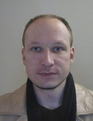 Anders Breivik mugshot