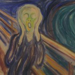 """Edvard Munch's """"Skriket"""" (The Scream) is by far his most famous image. Soon a local liquor producer will be able to sell """"Scream Vodka."""" PHOTO: Munch Museum"""