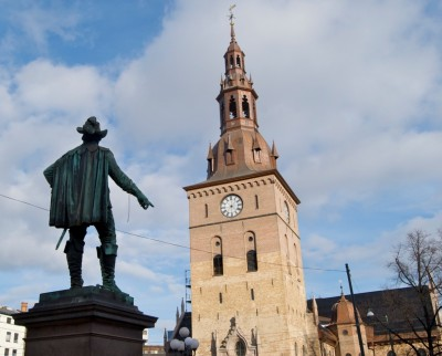 Oslo's cathedral (Domkirken) will also play an important role during the Christmas weekend. PHOTO: Views and News