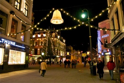 Christmas shopping just hasn't really taken off yet in Norway, with retails sales in Oslo running 1.8 percent behind last year at this time. PHOTO: Views and News