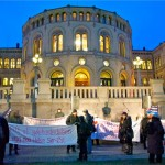 Another hospital protest in Oslo