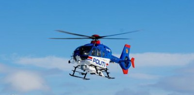 Oslo's police helicopter won't be getting any back-up for several more months. PHOTO: Politi/Espen Strai