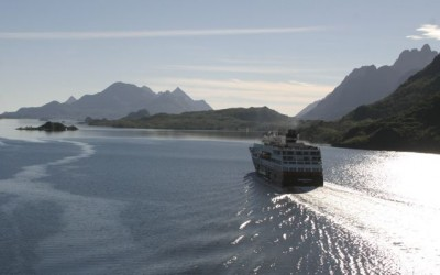 Northern Norway, known for its scenic Hurtigruten voyages along the coast, is poised for development following new offshore oil discoveries. PHOTO: Hurtigruten