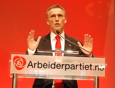 Labour Party leader Jens Stoltenberg has been a popular prime minister but now even he seems to be losing his grip on voters, along with his party. PHOTO: Arbeiderpartiet