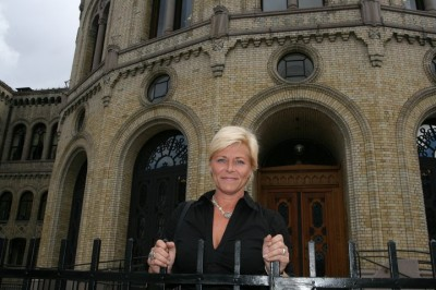 Progress Party leader Siv Jensen, now Norway's finance minister, wants to get a grip on easing sales restrictions at the state wine and liquor monopoly, Vinmonopolet. PHOTO: Fremskrittspartiet