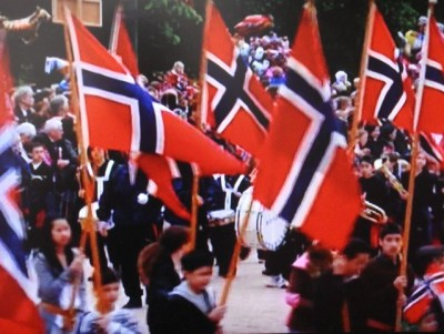 Flags will be flying and all over Norway on Thursday, when Norwegians celebrated the signing of their constitution on the 17th of May in 1814. PHOTO: Views and News