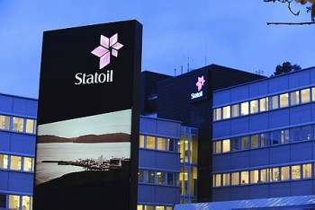Statoil is still doing well, despite lower oil prices. PHOTO: Statoil/Harald Pettersen