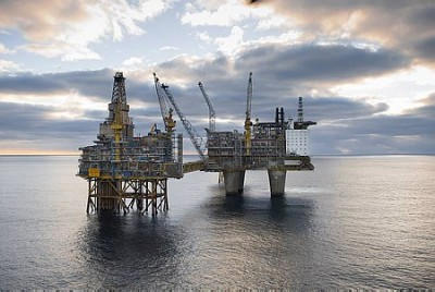 The Oseberg Field Centre has already been hit by the strike, which now may result in a lock-out that would shut down all Norwegian oil installations in the North Sea. PHOTO: Statoil/Øyvind hagen